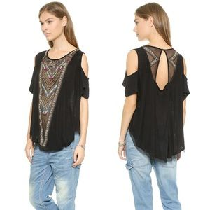 Free People Gypsy Spell Bohemian Tunic Top